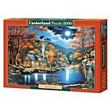 """Пазл Castorland """"Домик на озере"""" 2000 деталей"""