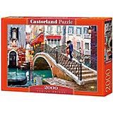 """Пазл Castorland """"Мост, Венеция"""" 2000 деталей"""
