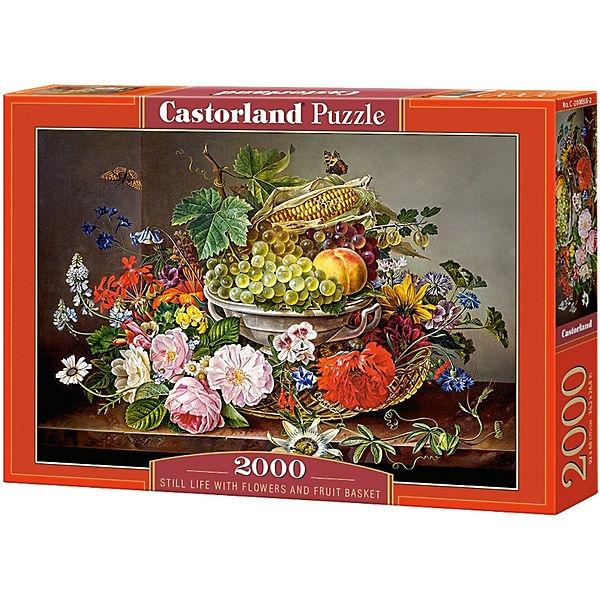 """Пазл Castorland """"Натюрморт с цветами"""" 2000 деталей"""