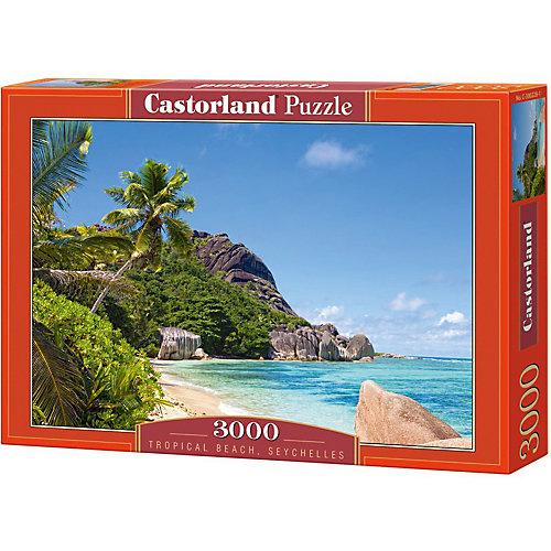 """Пазл Castorland """"Пляж, Сейшелы"""" 3000 деталей от Castorland"""