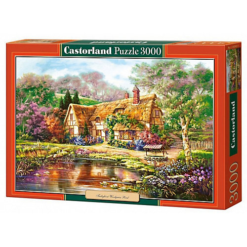 """Пазл Castorland """"Сумерки у пруда"""" 3000 деталей от Castorland"""