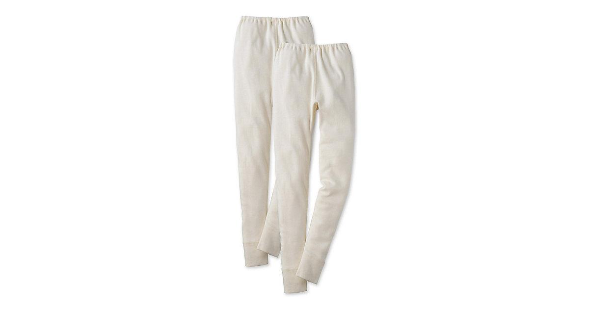 Kinder lange Unterhose aus Bio-Baumwolle Gr. 11...