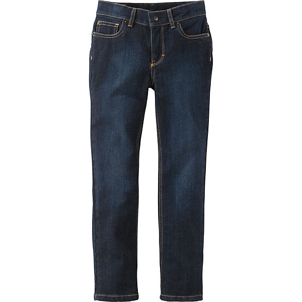 Kinder Five-Pocket-Jeans mit schmalem Bein