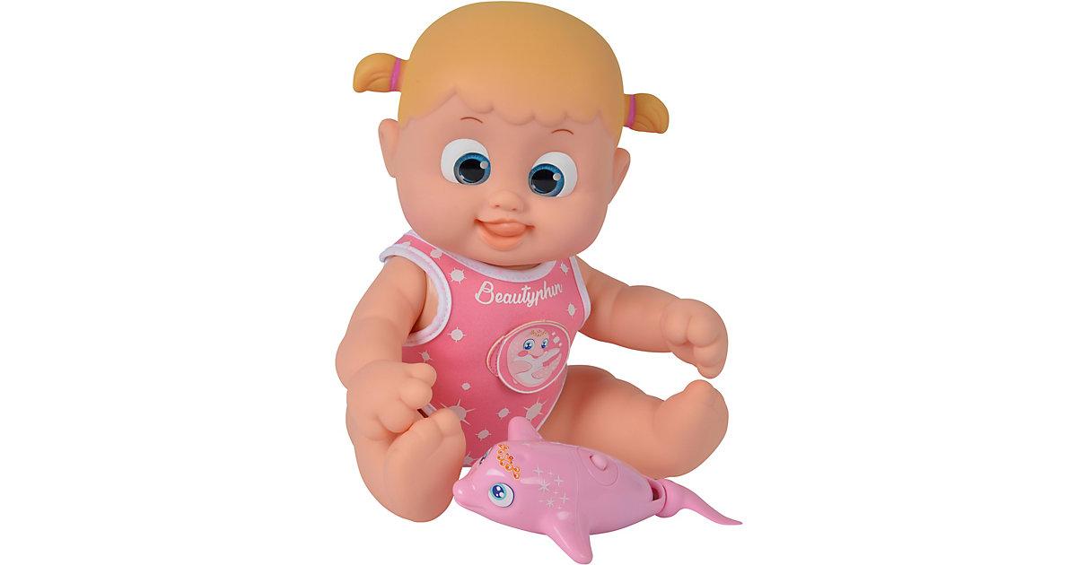 Simba Toys · Simba - Bouncin Babies: Bonny schwimmt mit Delfin