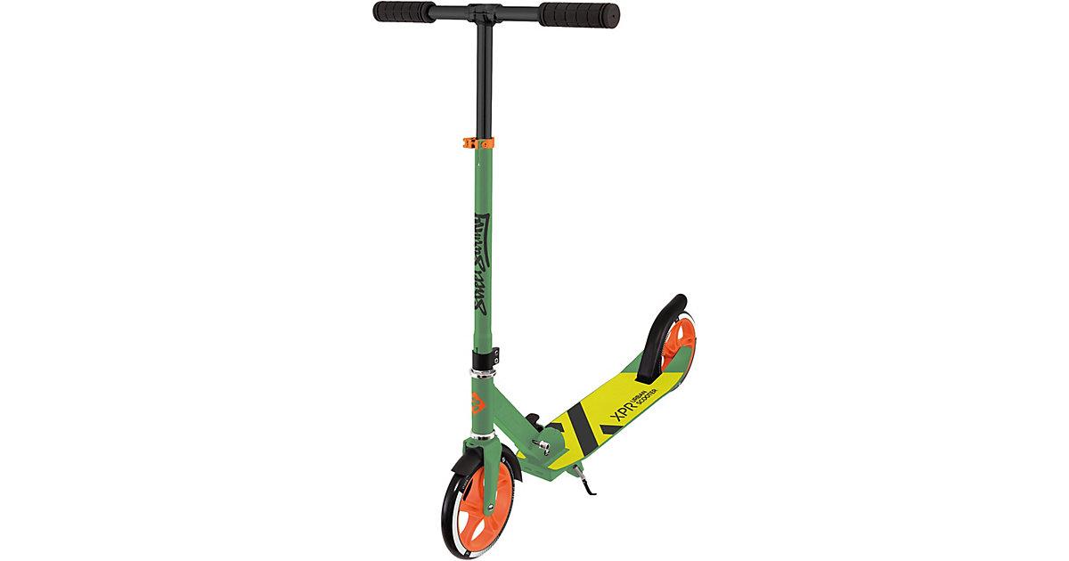 Scooter 205 XPR, grün-gelb