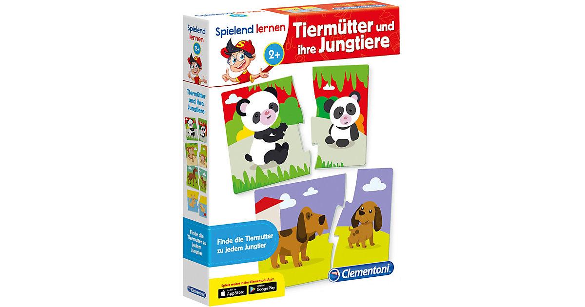 Clementoni · Spielend lernen - Tiermütter und ihre Jungtiere