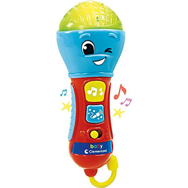 """Музыкальная игрушка Clementoni """"Микрофон"""""""