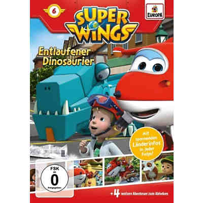 DVD Super Wings 06 - Entlaufener Dinosaurier