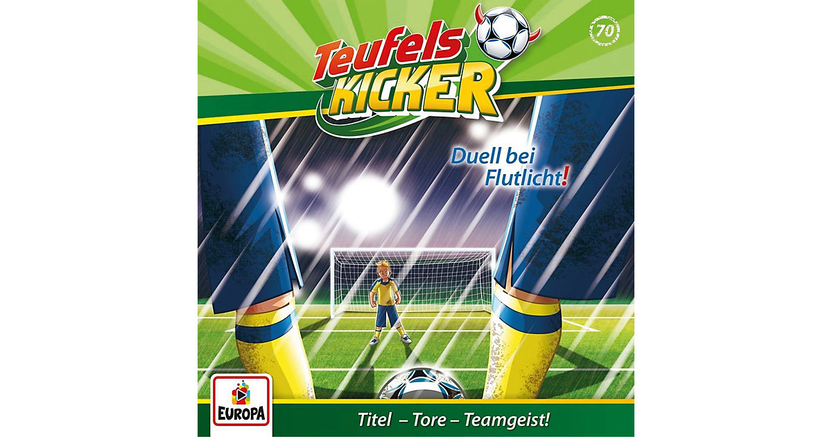 CD Teufelskicker 70 - Duell bei Flutlicht! Hörbuch
