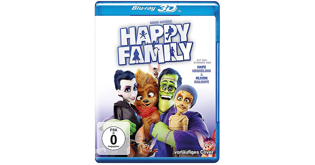 Warner Home Video · BLU-RAY Happy Family 3D (BluRay 3D + BluRay)