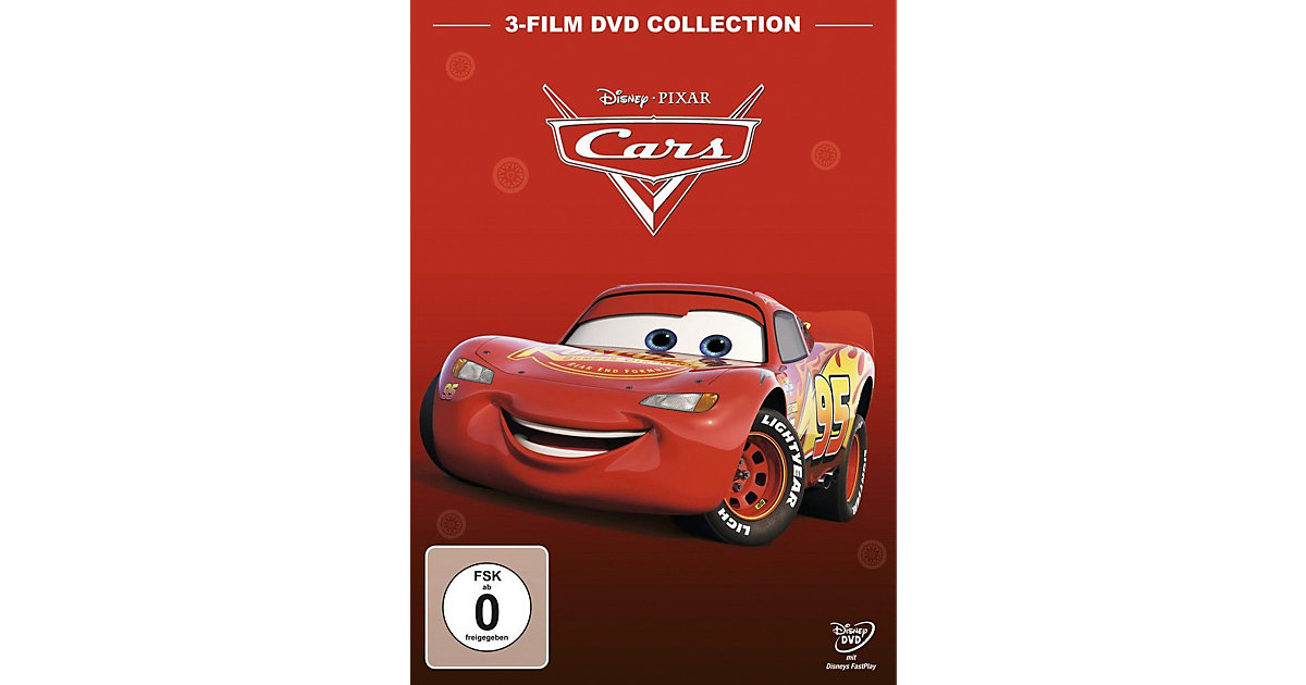 DVD Cars 1 + Cars 2 + Cars 3 (Collection, 3 DVDs) Hörbuch