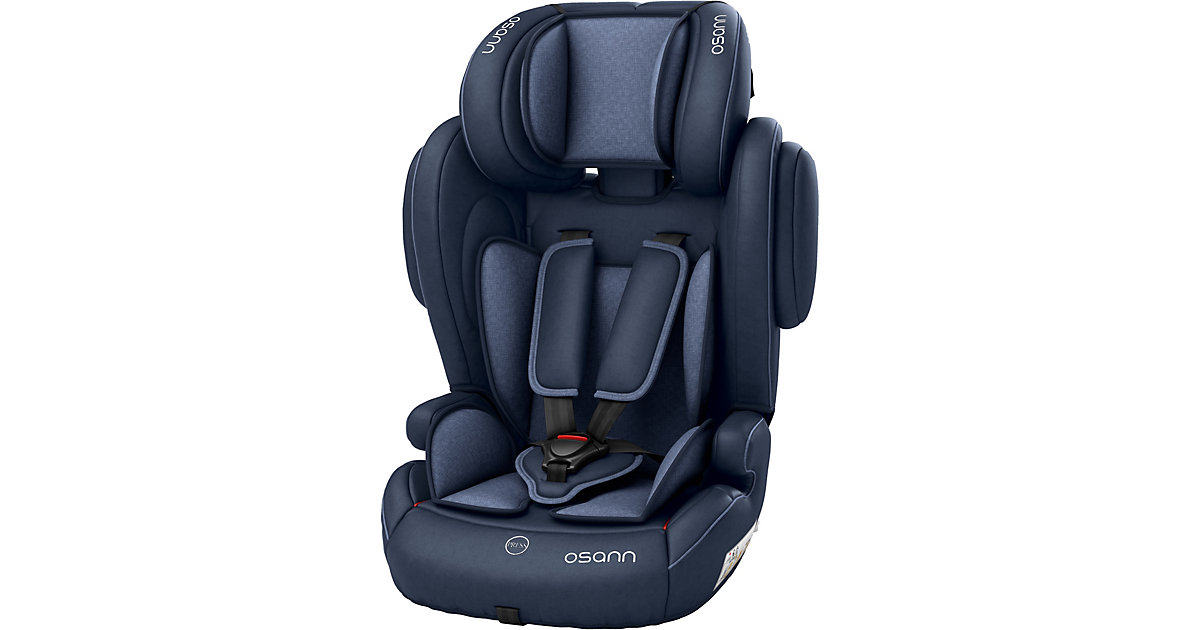 Osann · Auto-Kindersitz Flux Plus, Navy Melange, 2018 Gr. 15-36 kg