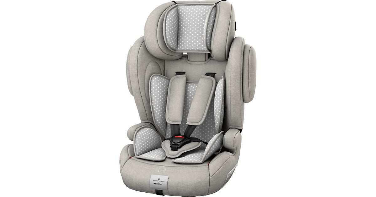Osann · Auto-Kindersitz Flux Plus, bellybutton, Silver Cloud, 2018 Gr. 15-36 kg