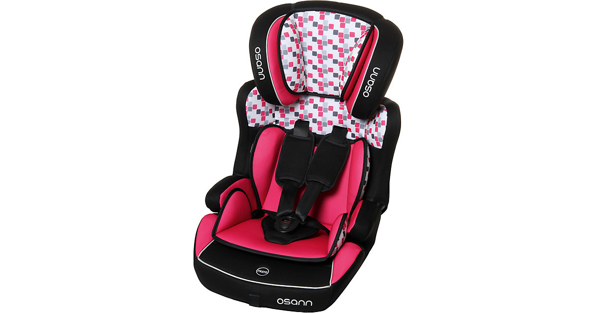 Osann · Auto-Kindersitz Lupo Plus, Cube Pink, 2018 Gr. 9-36 kg