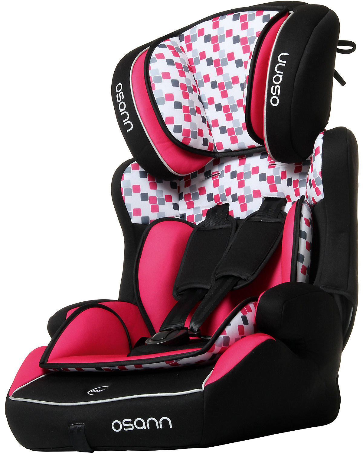 auto kindersitz lupo isofix cube pink osann mytoys. Black Bedroom Furniture Sets. Home Design Ideas