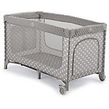 Кровать-манеж Happy Baby Martin, серый