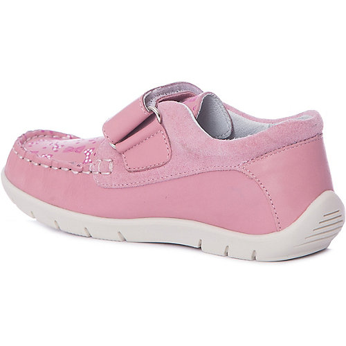 Мокасины Котофей для девочки - розовый от Котофей