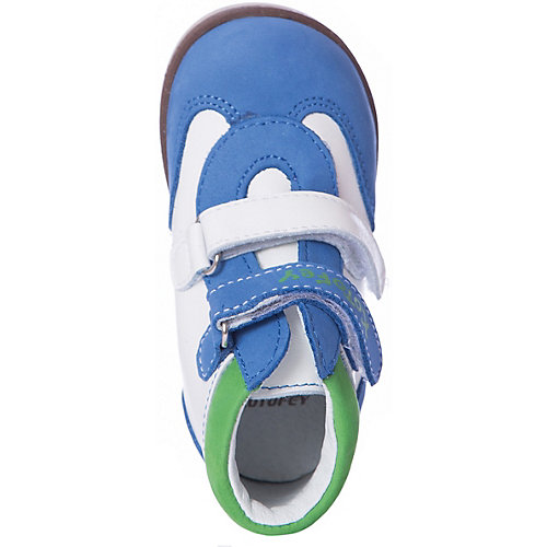 Ботинки Котофей - синий/белый от Котофей