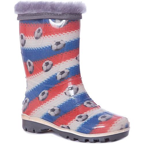 Резиновые сапоги со съемным носком Nordman - разноцветный от Nordman