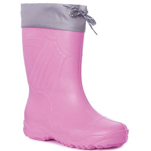 Резиновые сапоги Nordman для девочки - розовый от Nordman