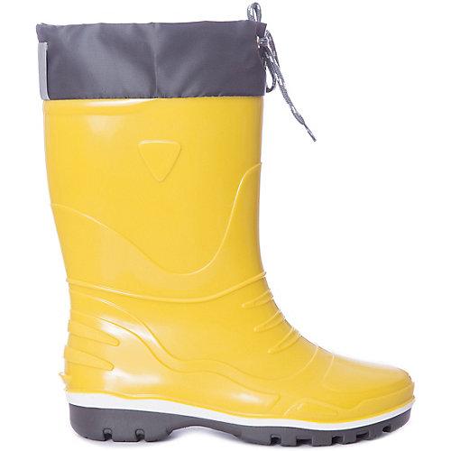 Резиновые сапоги со съемным носком Nordman Step - желтый от Nordman