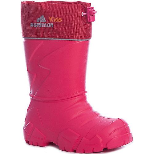 Резиновые сапоги со съемным носком Nordman Kids - розовый от Nordman