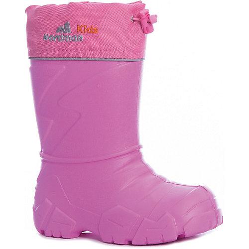 Резиновые сапоги со съемным носком Nordman Step - блекло-розовый от Nordman