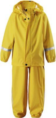 Непромокаемый комплект: куртка и брюки Tihku Reima - желтый