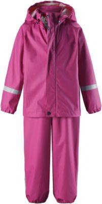 Непромокаемый комплект: куртка и брюки Tihku Reima - розовый