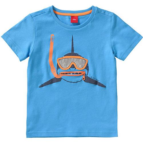 S.Oliver,s.Oliver T-Shirt Gr. 116/122 Jungen Kinder   04055268515410