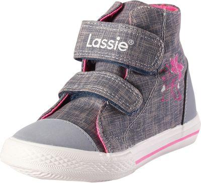Кеды Ribera Lassie для девочки - серый