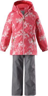 Комплект: куртка и брюки Pilkku Reimatec® Reima для девочки - розовый