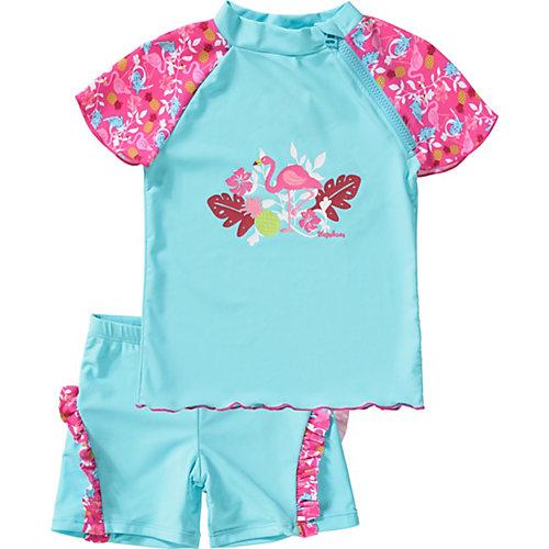 Playshoes Schwimmanzug Flamingo UV-Schutz Gr. 122/128 Mädchen Kinder   04010952478983