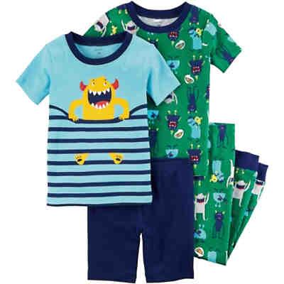 b343fa278a06bc Schlafanzug Doppelpack mit Monster für Jungen