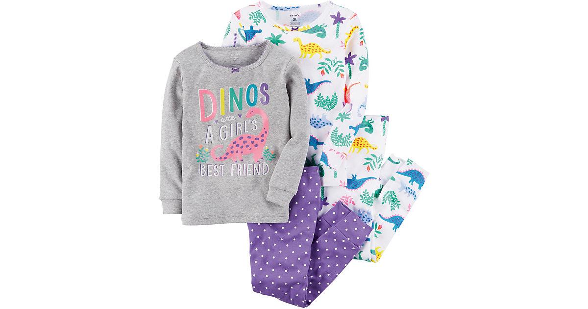 Carter´s · Schlafanzug Doppelpack mit Dinosaurier Gr. 92 Mädchen Kleinkinder