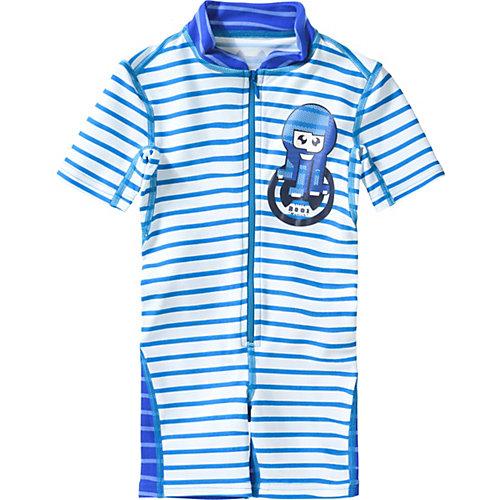 Schwimmanzug mit UV-Schutz Gr. 92/98 Jungen Kleinkinder | 04046451058159