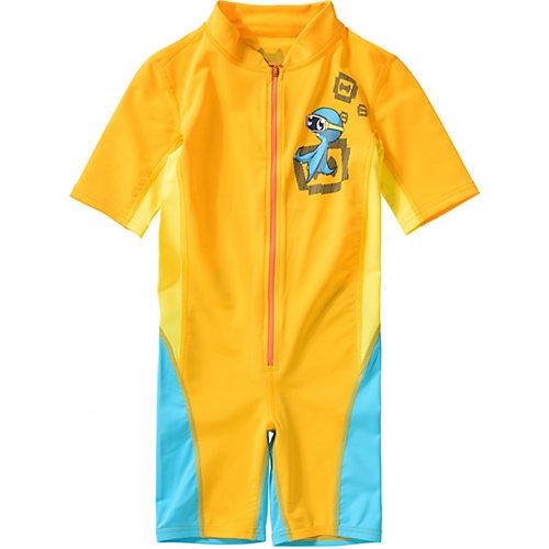 Kinder Schwimmanzug mit UV-Schutz Gr. 116/122 | 04046451058302