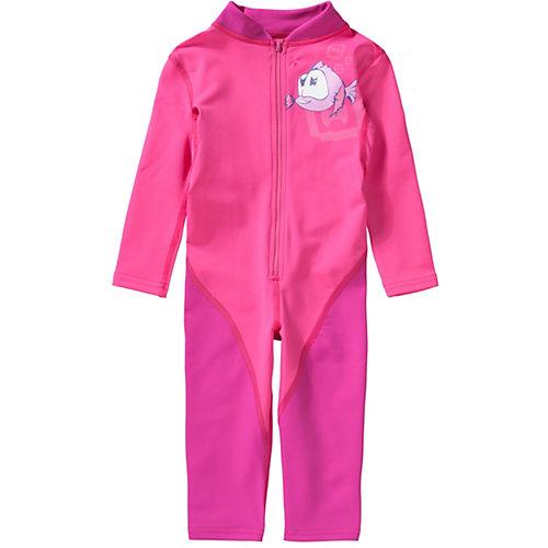 Schwimmanzug mit UV-Schutz Gr. 104/110 Mädchen Kinder | 04046451057848