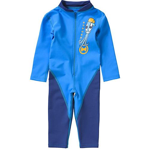 Schwimmanzug mit UV-Schutz Gr. 104/110 Jungen Kinder | 04046451057923