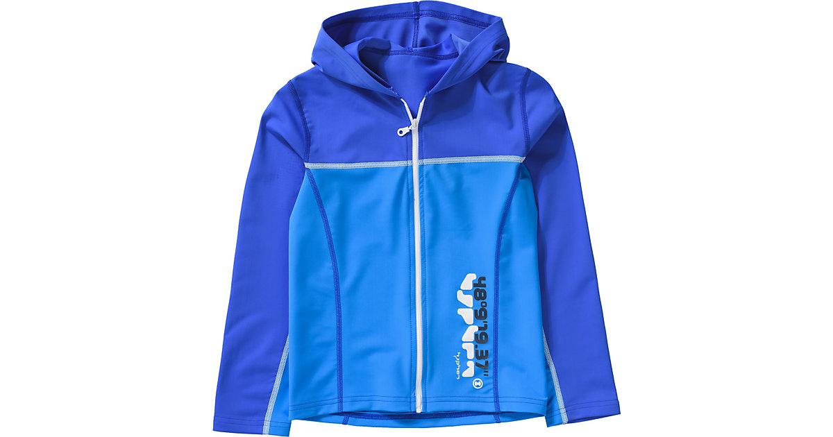 hyphen · Trainingsjacke mit Kapuze und UV-Schutz Gr. 128/134 Jungen Kinder