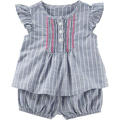 OshKosh Baby Set Kurzarmbluse und Shorts Gr. 68/74 Mädchen Baby | 00190796486482