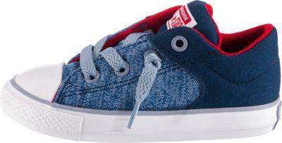 MAXIMO Babyschuhe 18 Schuhe Turnschuhe Chucks Sneaker Canvas JEANS blau grau NEU e43so6