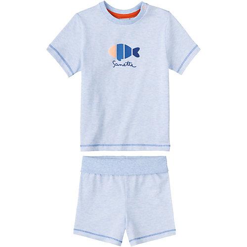 Sanetta Baby Schlafanzug Gr. 104 Jungen Kleinkinder | 04055502651829