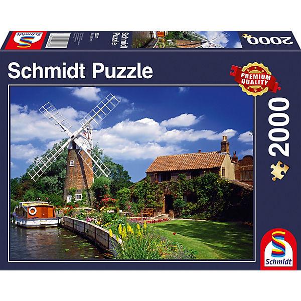 Puzzle 1000 Teile Unterwegs mit dem HausStiefel, Schmidt Spiele