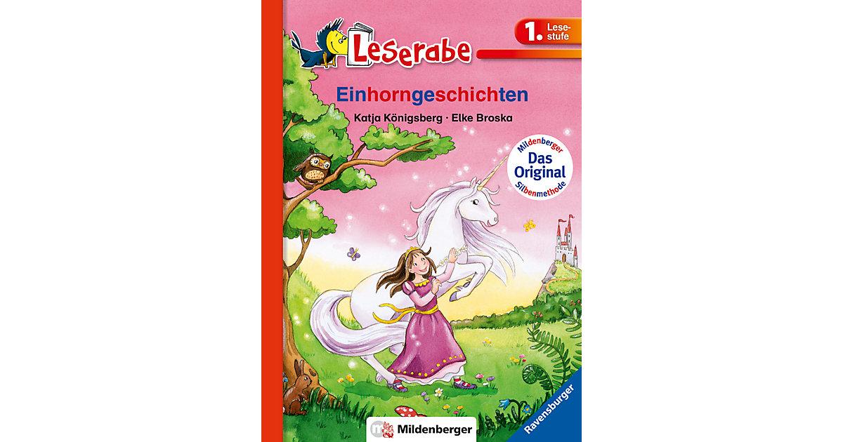 Buch - Leserabe mit Mildenberger: Einhorngeschichten, 1. Lesestufe
