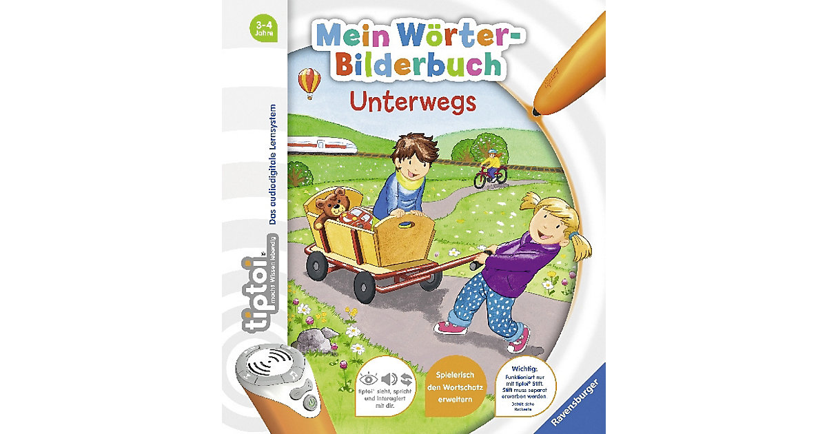 tiptoi® Mein Wörter-Bilderbuch: Unterwegs