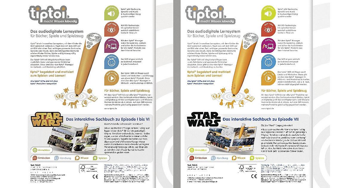 tiptoi® Star Wars Episode I-VI / Star Wars Episode VII, 2 Bände