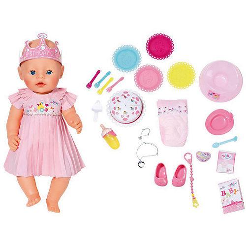 """Интерактивная кукла Zapf Creation """"Baby Born"""", нарядная с тортом, 43 см от Zapf Creation"""