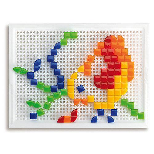 """Мозаика Quercetti """"Фантастические цвета"""", 100 деталей, треугольные и квадратные"""