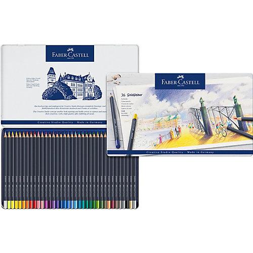 Карандаши цветные Faber-Castell Goldfaber, 36 цветов от Faber-Castell